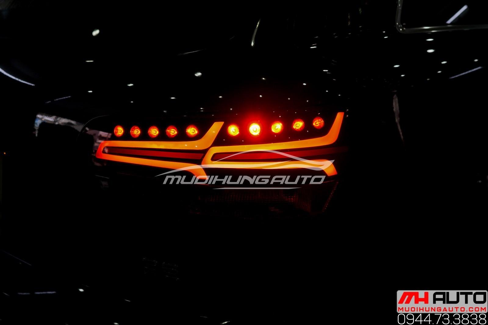 Độ led mí pha và led hậu Audi Q7 uy tín chuyên nghiệp TPHCM