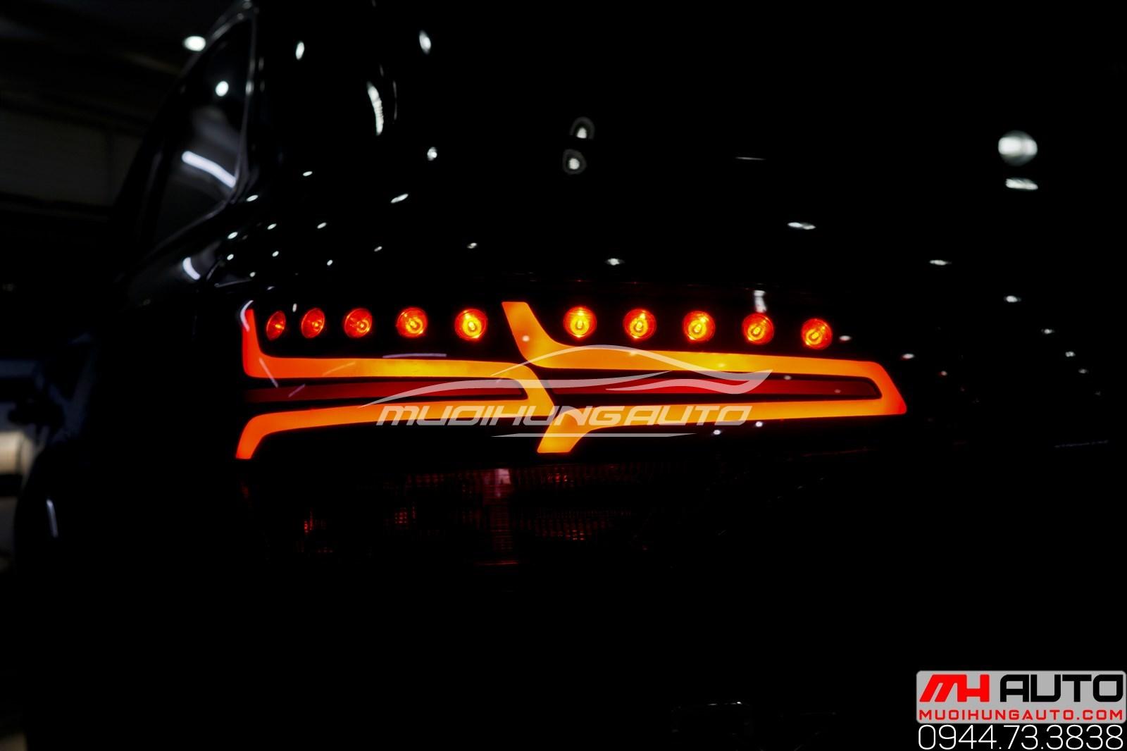 Độ led mí pha và led hậu Audi Q7 uy tín chuyên nghiệp ở HCM