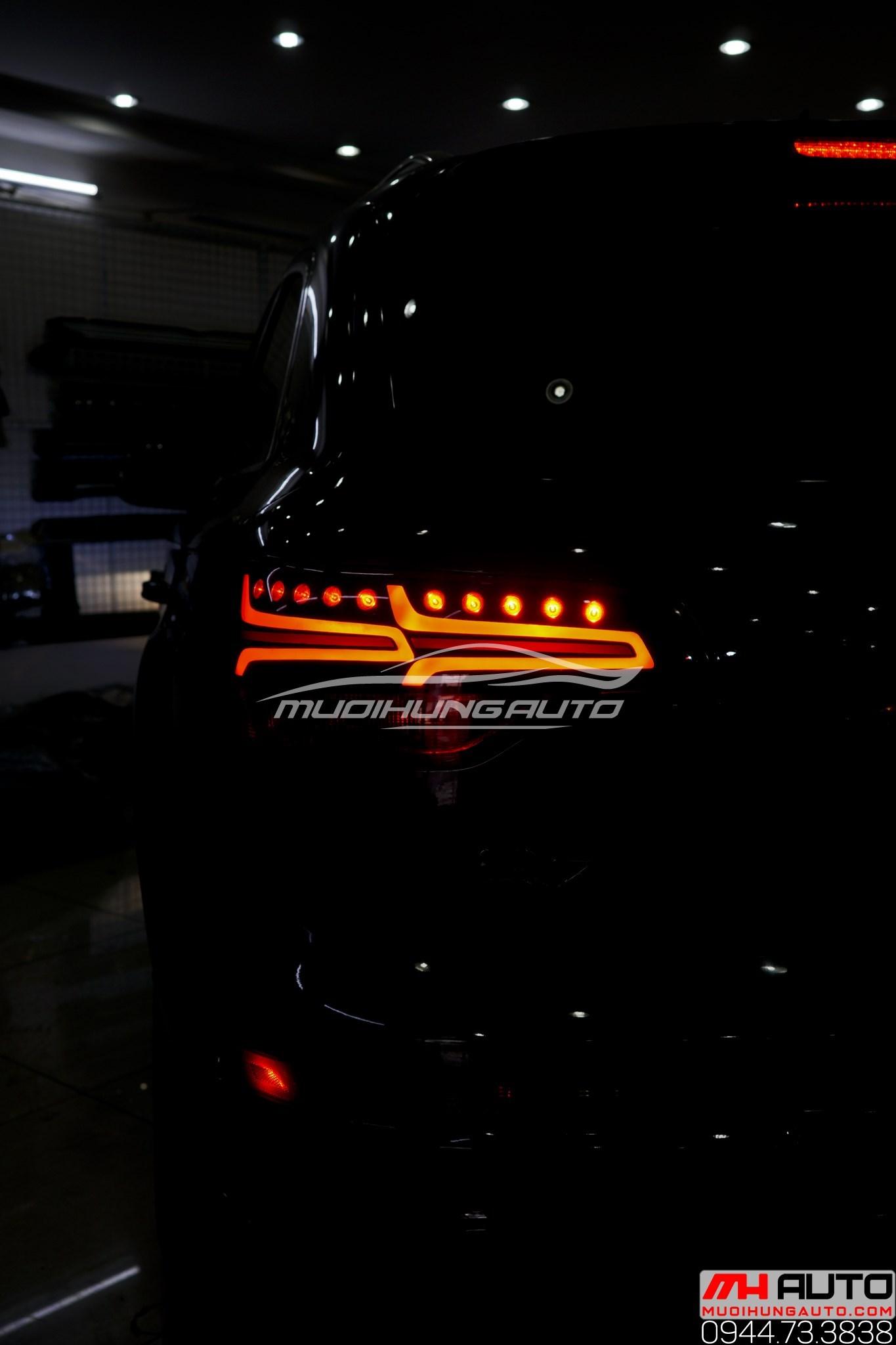 Độ led mí pha và led hậu Audi Q7 uy tín TPHCM