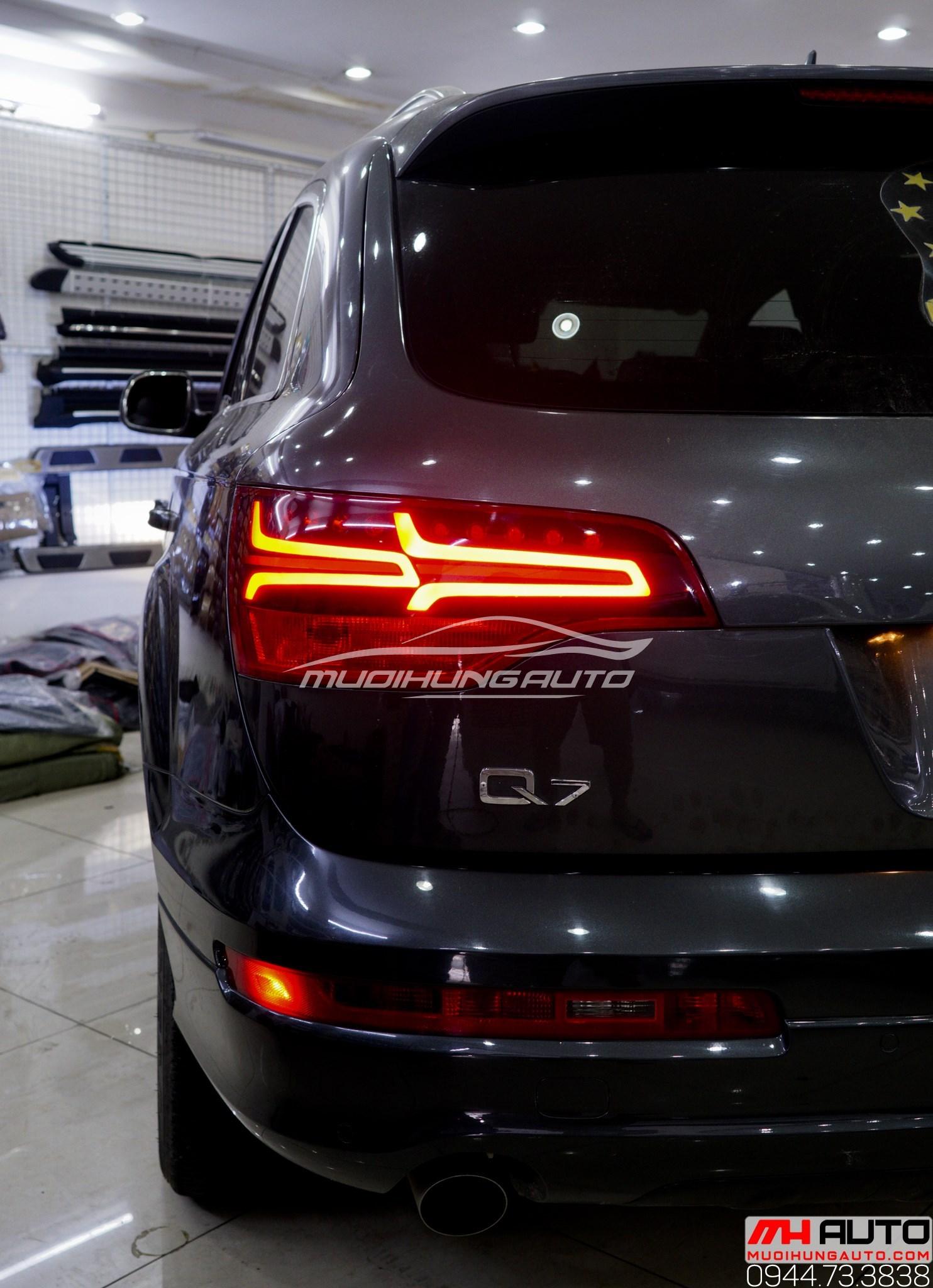 Độ led mí pha và led hậu Audi Q7 uy tín chuyên nghiệp tại HCM