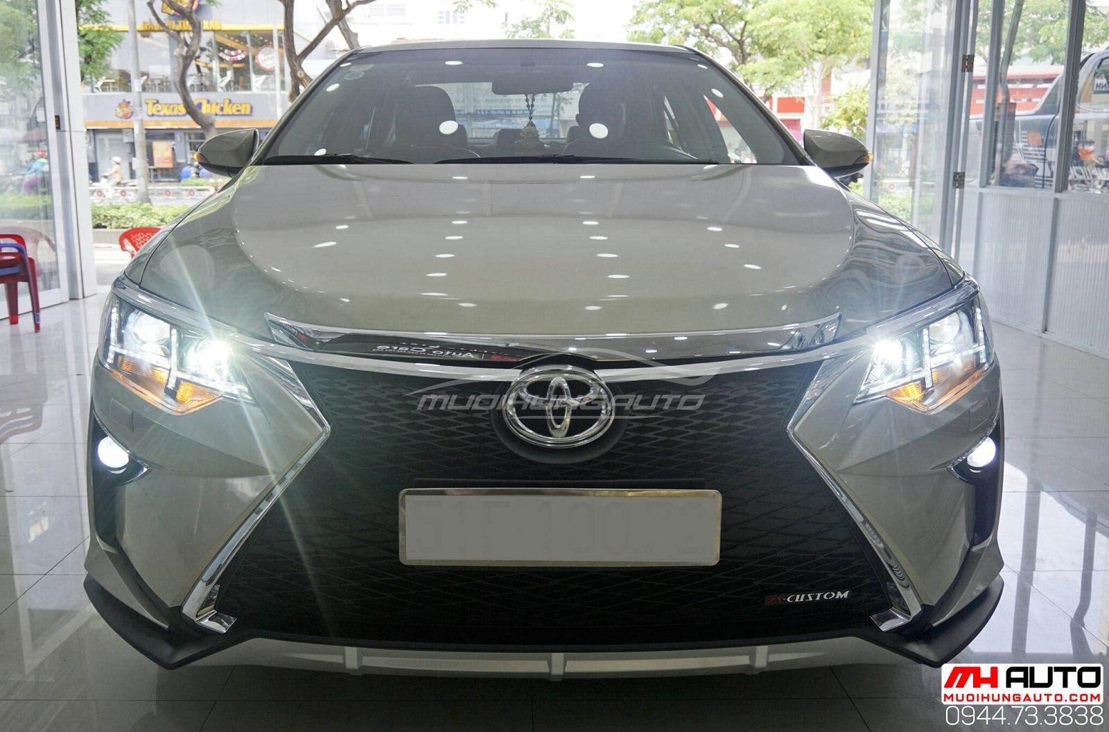 Độ xe Camry2.0 thành Lexus tăng độ chất cho xế