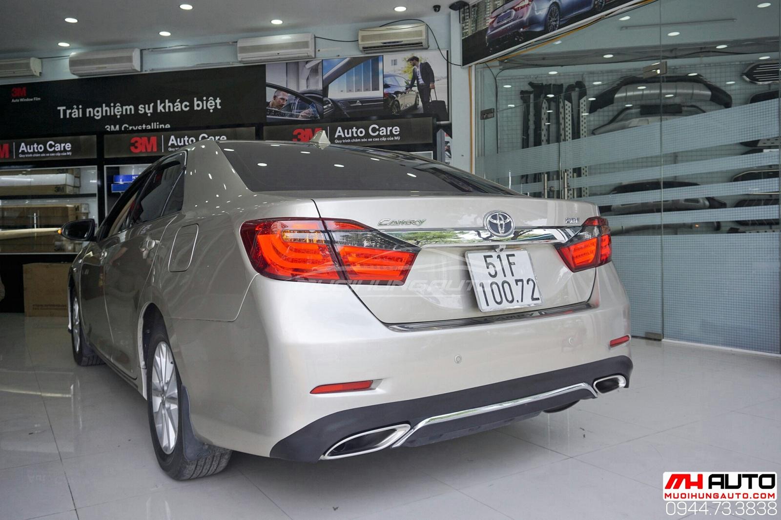 Độ xe Camry2.0 thành Lexus tăng độ ngầu cho xế
