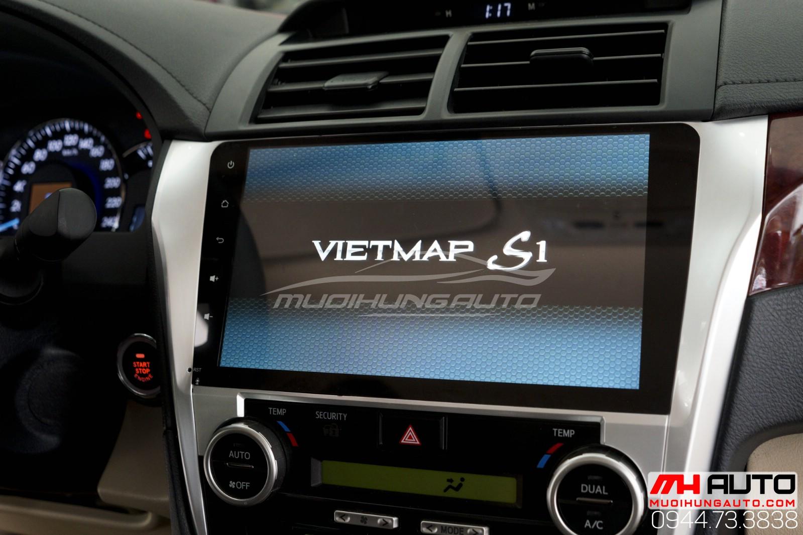 Màn hình DVD Android cho xe Camry