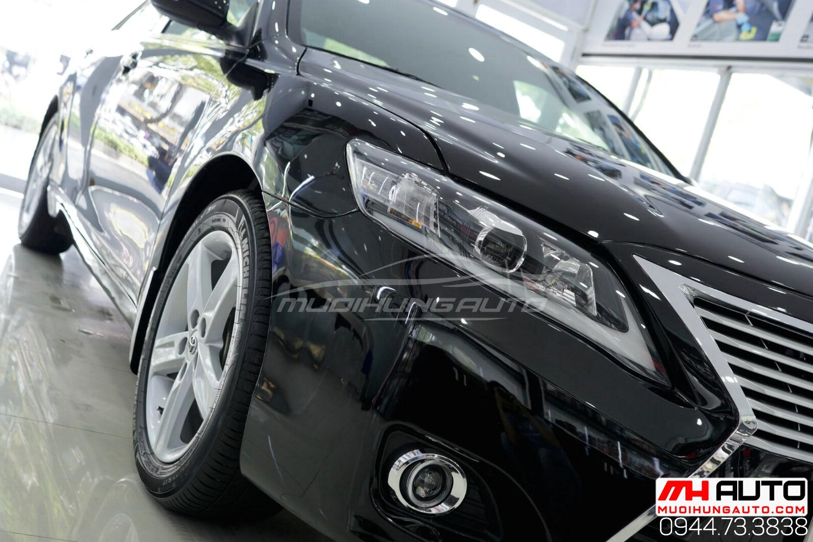 Lột xác cho xe Camry 2010 lên Lexus xe đen phiên bản mới