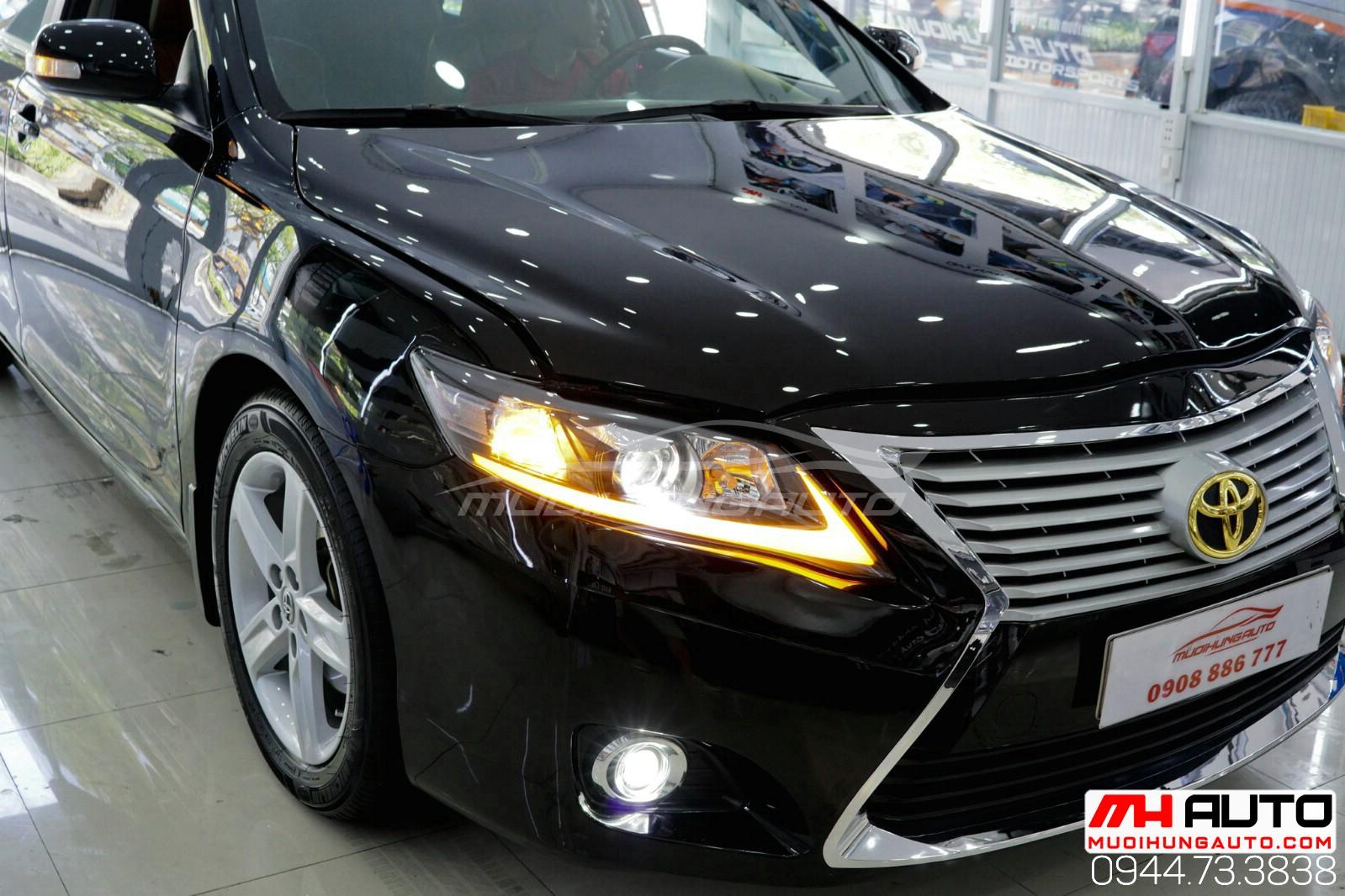độ xe Camry 2010 thành Lexus cực chất