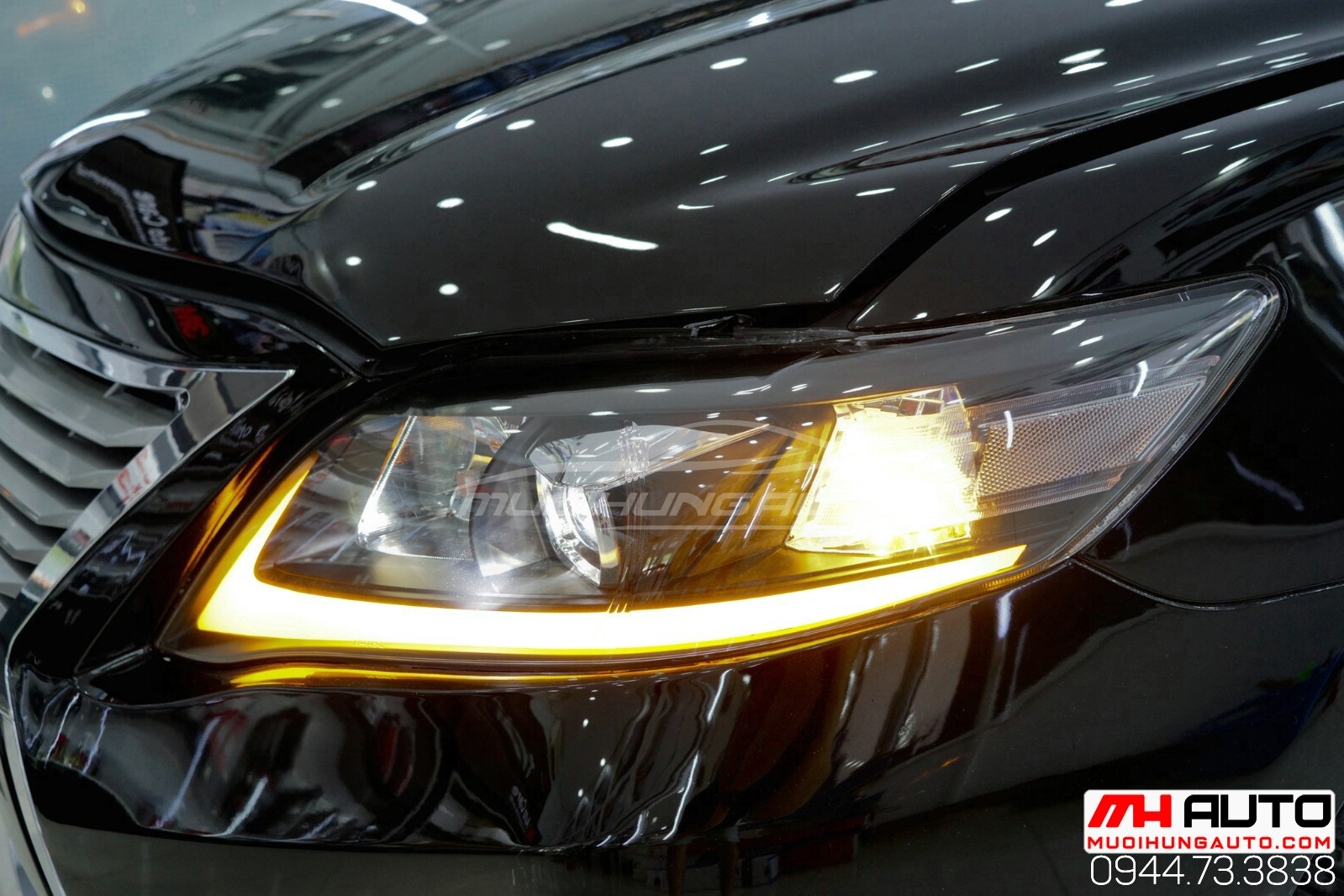 độ xe Camry 2010 thành Lexus cực ngầu