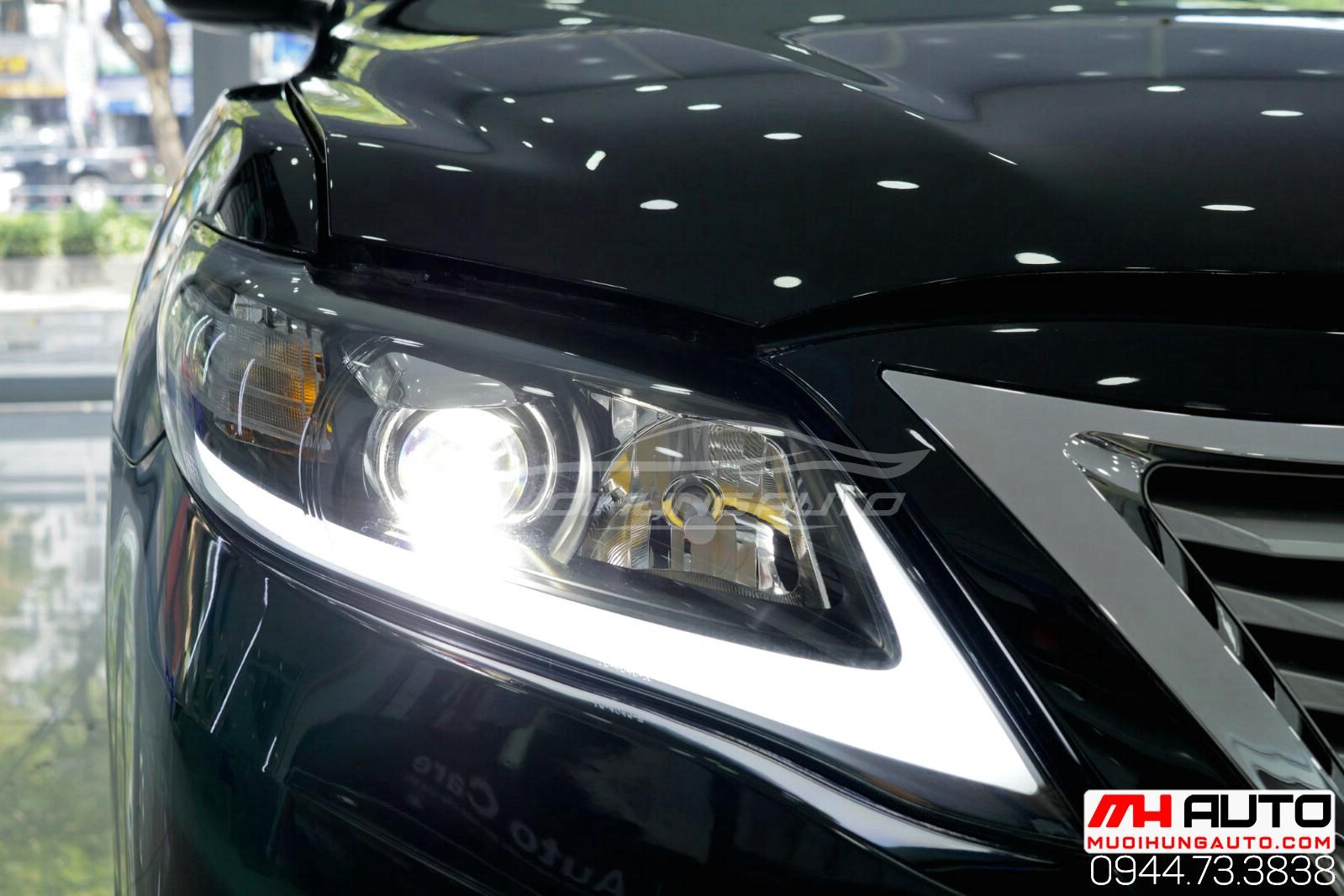 Lột xác cho xe Camry 2010 độ full Lexus xe đen