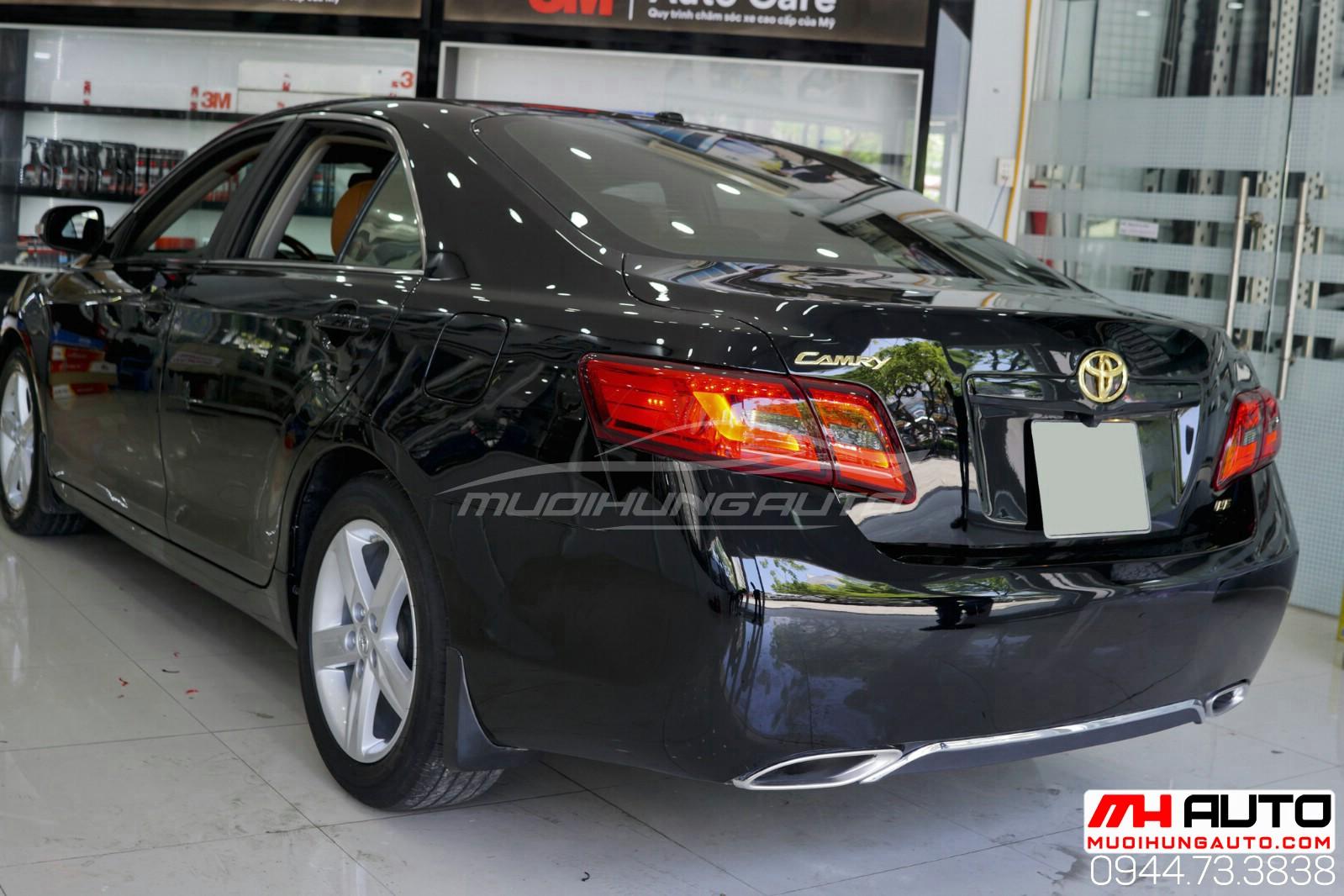 Lột xác cho xe Camry 2010 độ full Lexus