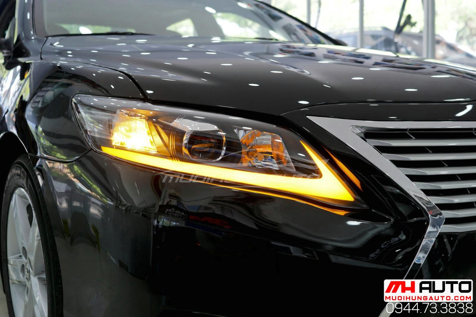Làm mới Camry 2010 độ full Lexus xe đen