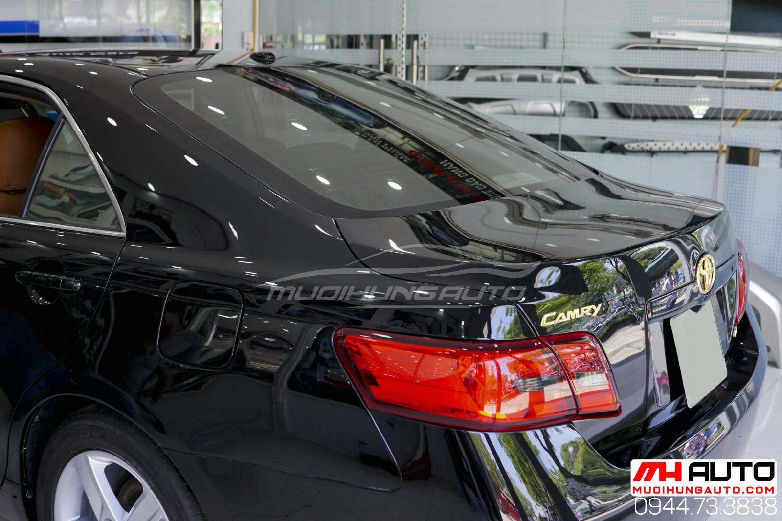 Lột xác Camry 2010 độ full Lexus xe đen