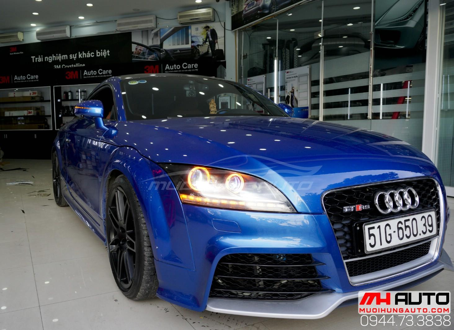 Audi TT độ đèn cải thiện ánh sáng