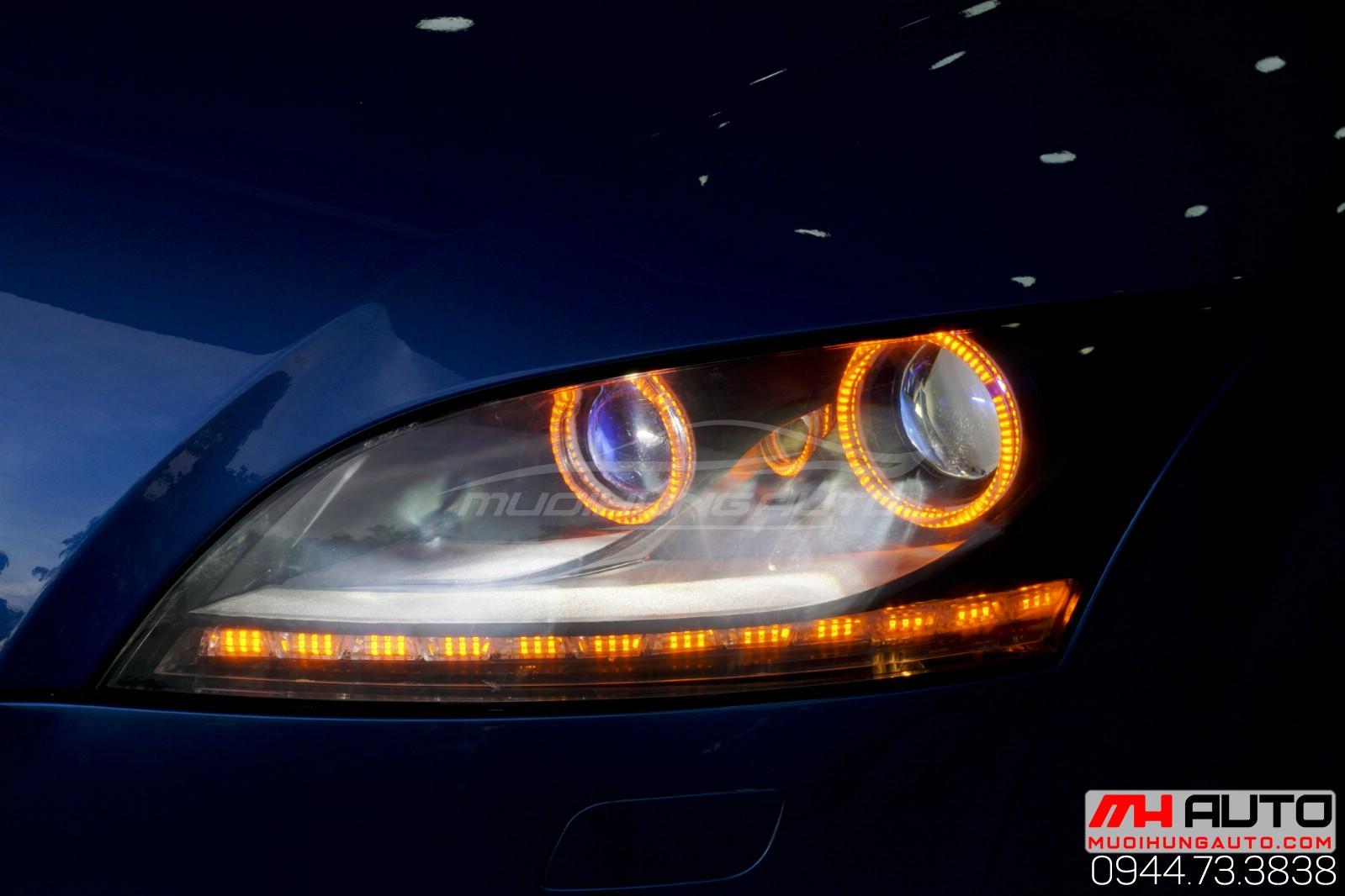 Audi TT độ đèn giá rẻ