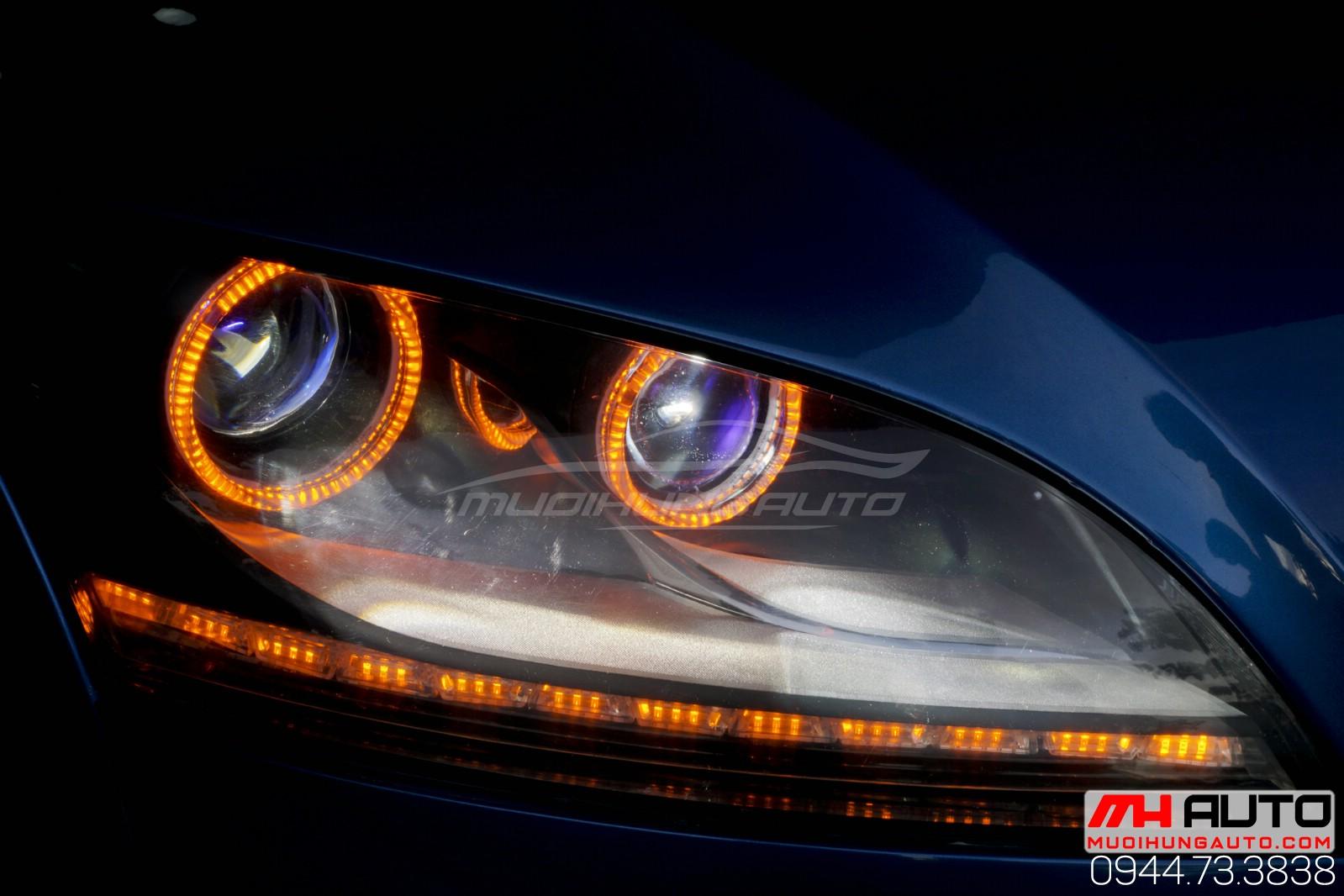 Audi TT độ đèn tại HCM