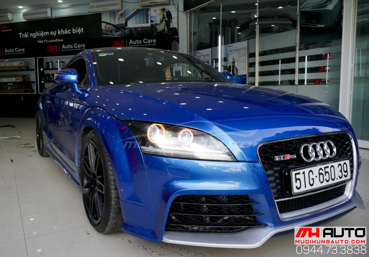 Audi TT độ đèn giá rẻ tại HCM