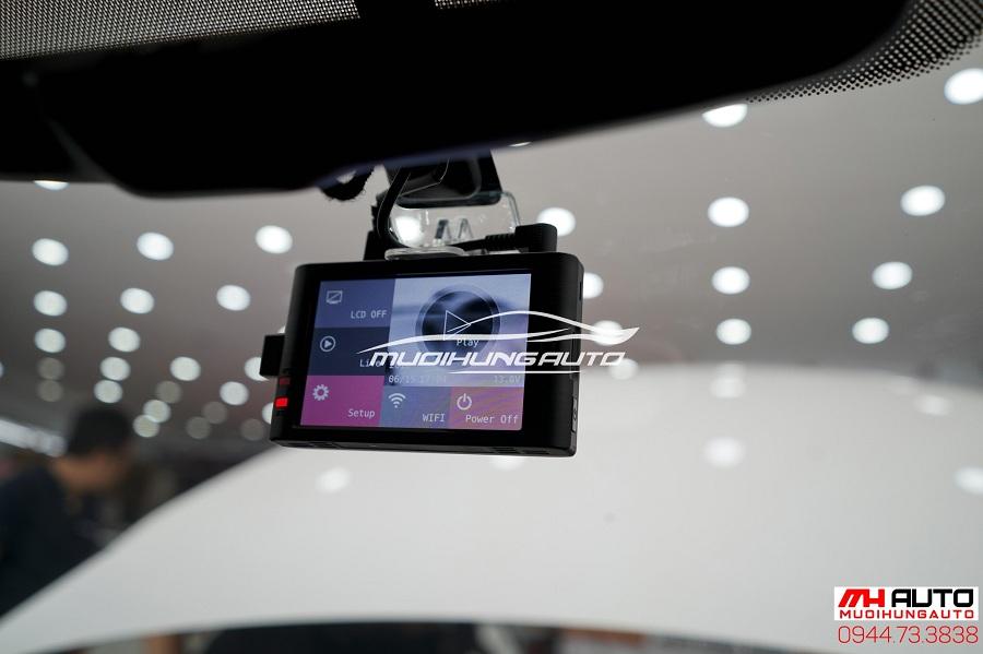 lắp đặt camera hành trình X2