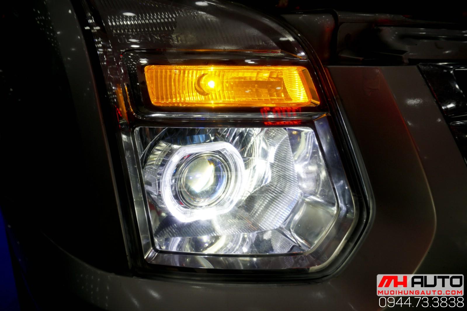 độ đèn bi pha Transit hai chế độ