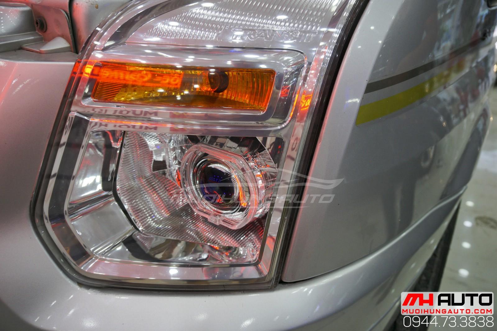 độ đèn bi pha Transit giá rẻ