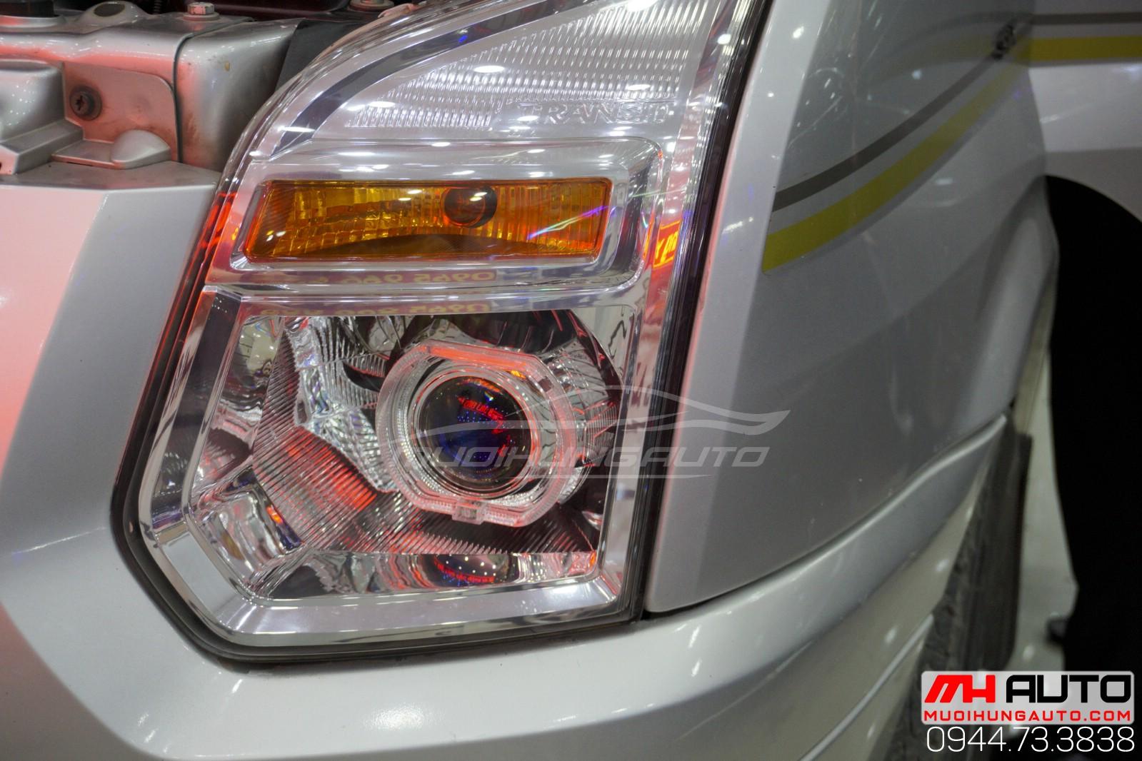 độ đèn bi pha Transit giá rẻ tại HCM
