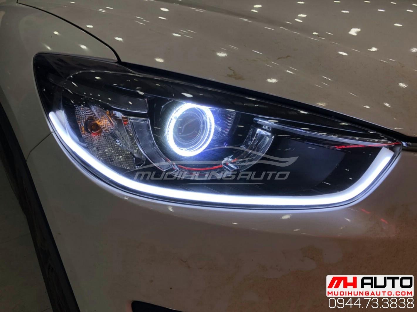 độ đèn CX5 đời 2015