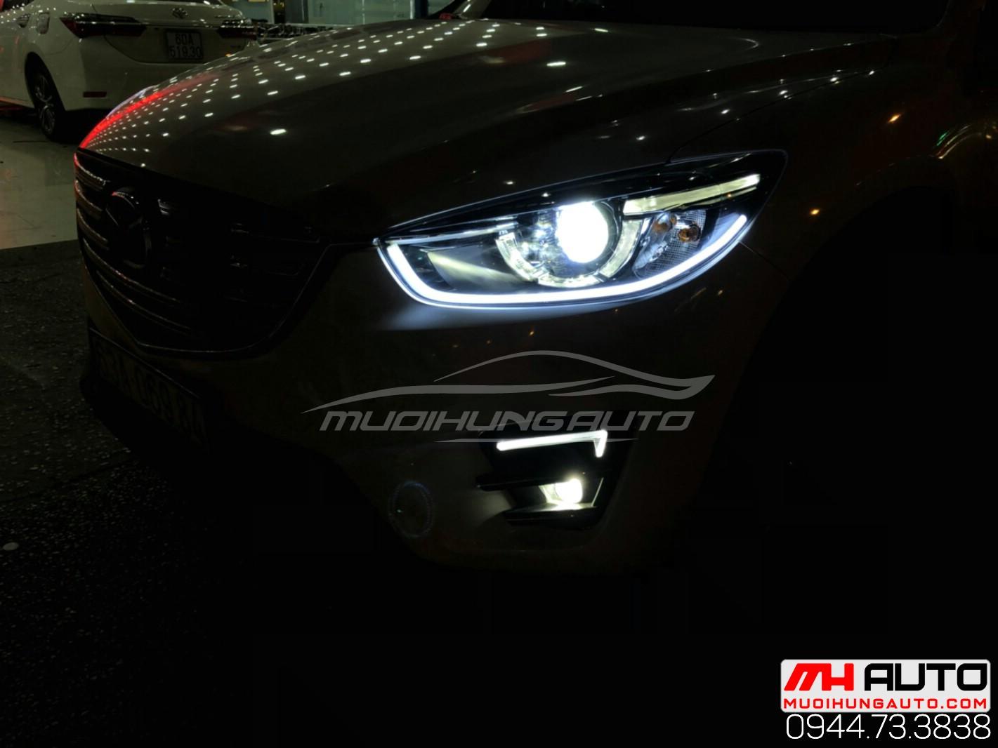 độ đèn cho xe CX5 đời 2015