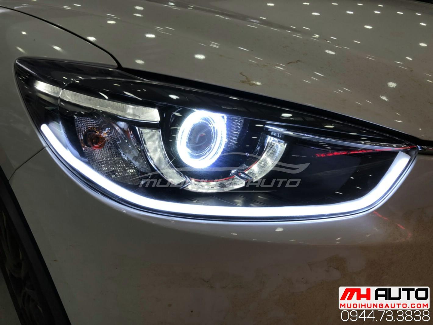 độ đèn xe ô tô CX5 đời 2015