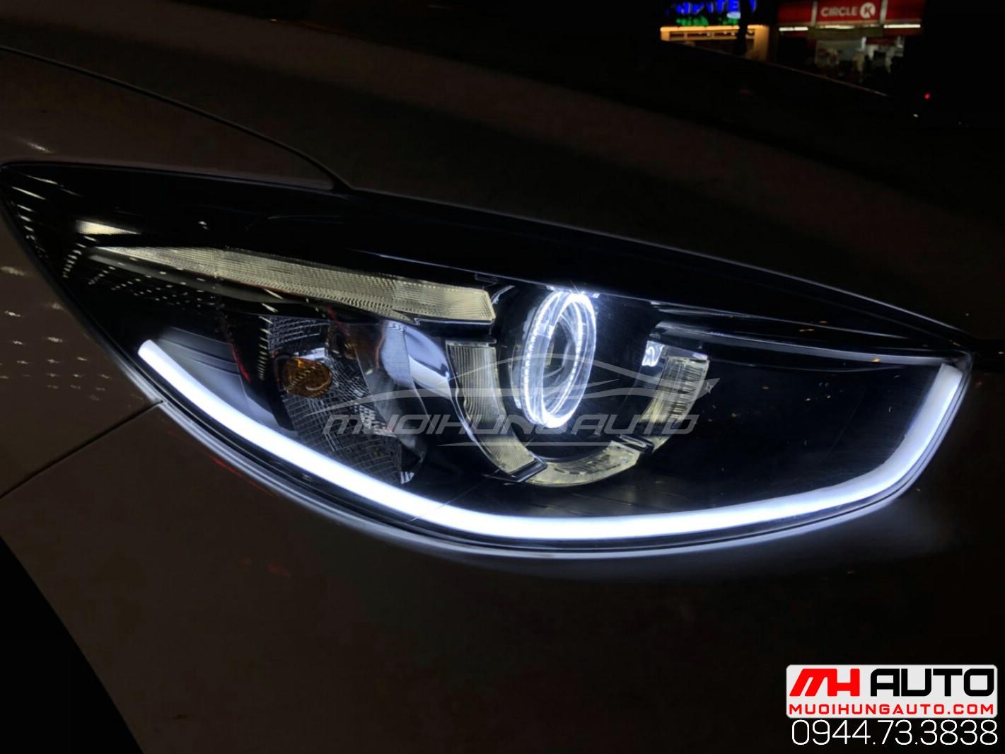 độ đèn Mazda CX5 đời 2015