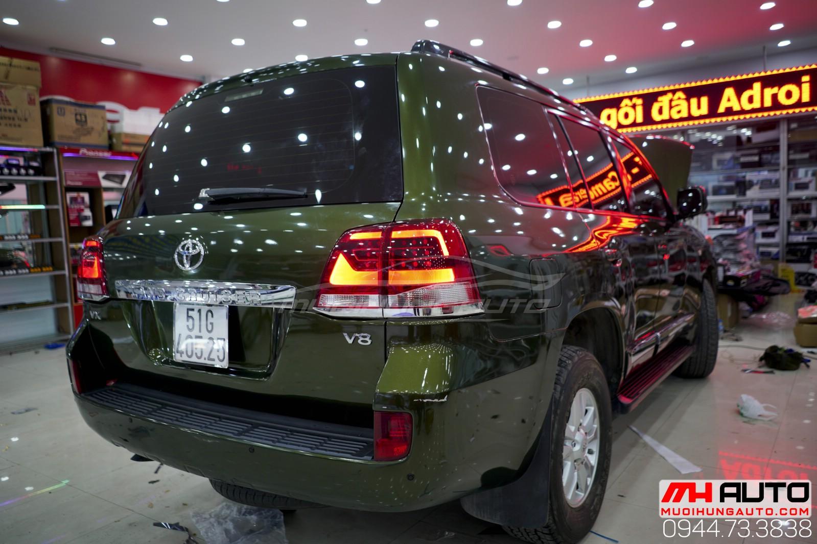 Độ đèn xe Land Cruiser