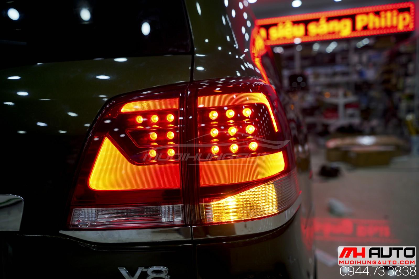 Độ đèn xe hơi Land Cruiser