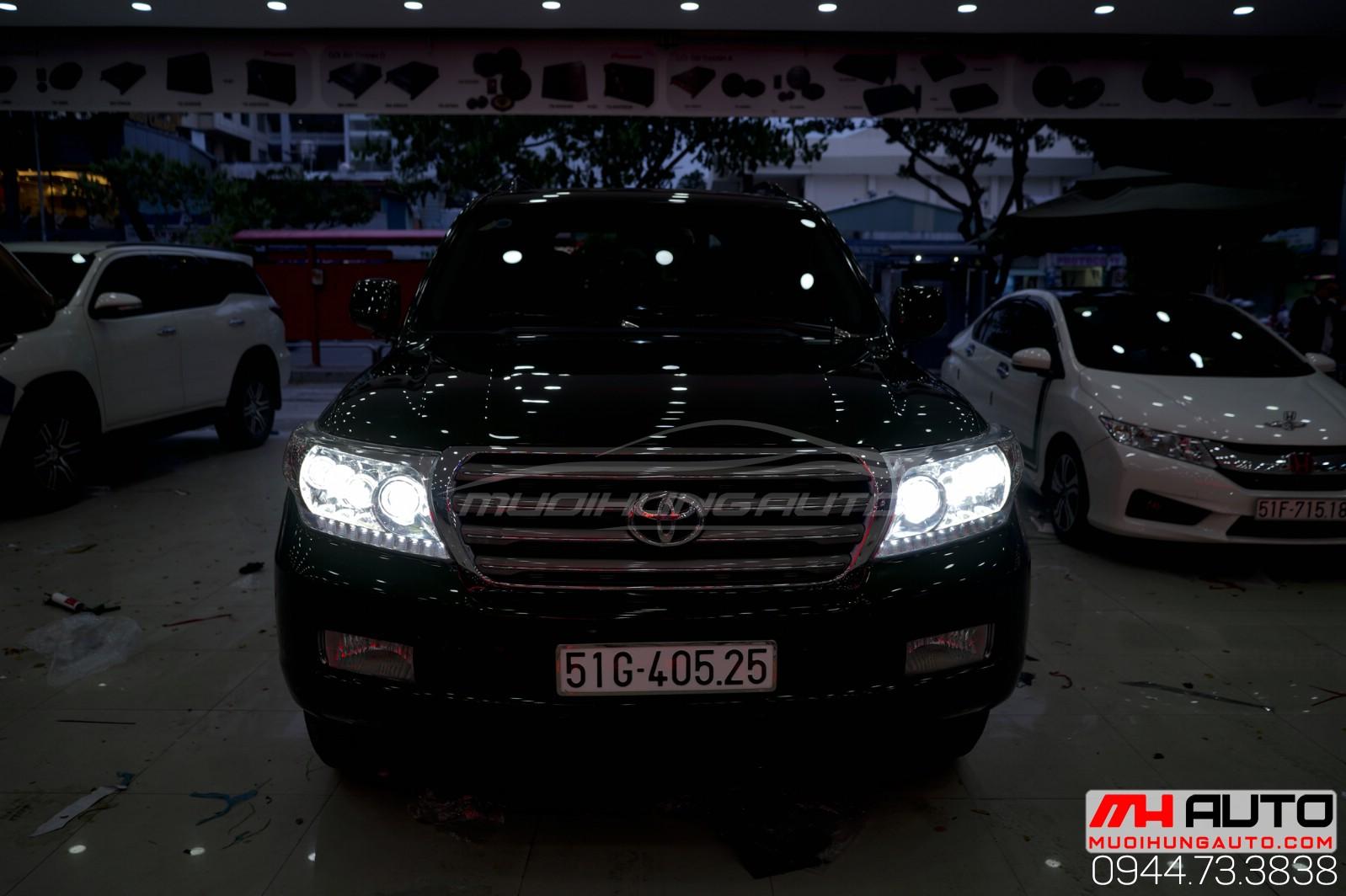 Độ đèn xe Land Cruiser chất lượng