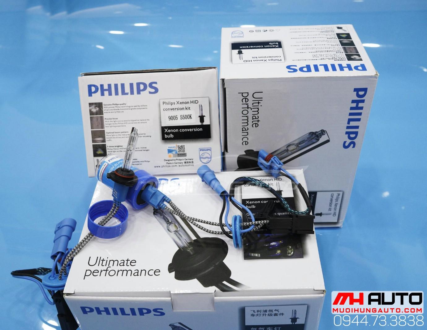 gắn bóng xenon Philips chính hãng tại HCM