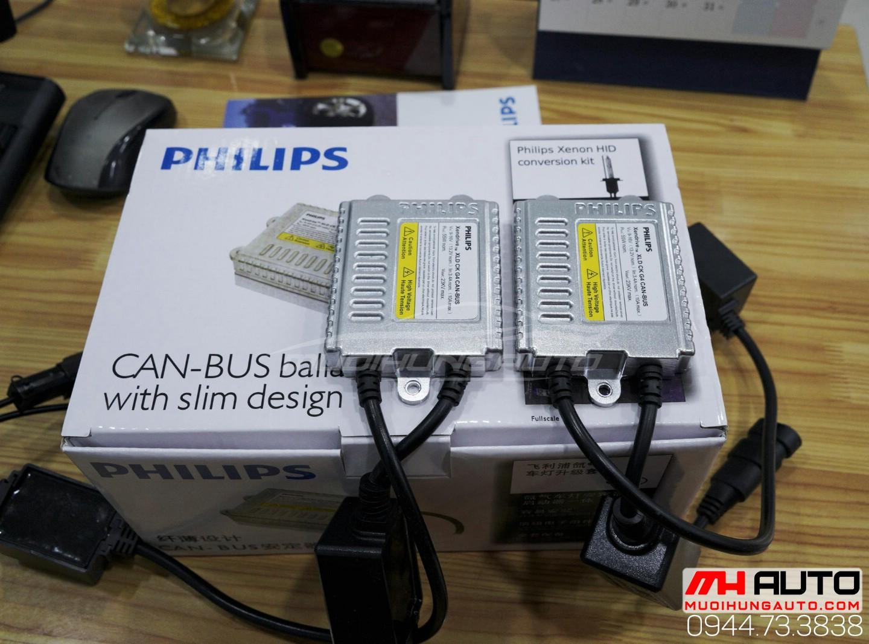 gắn bóng xenon Philips chính hãng tại Q1 HCM