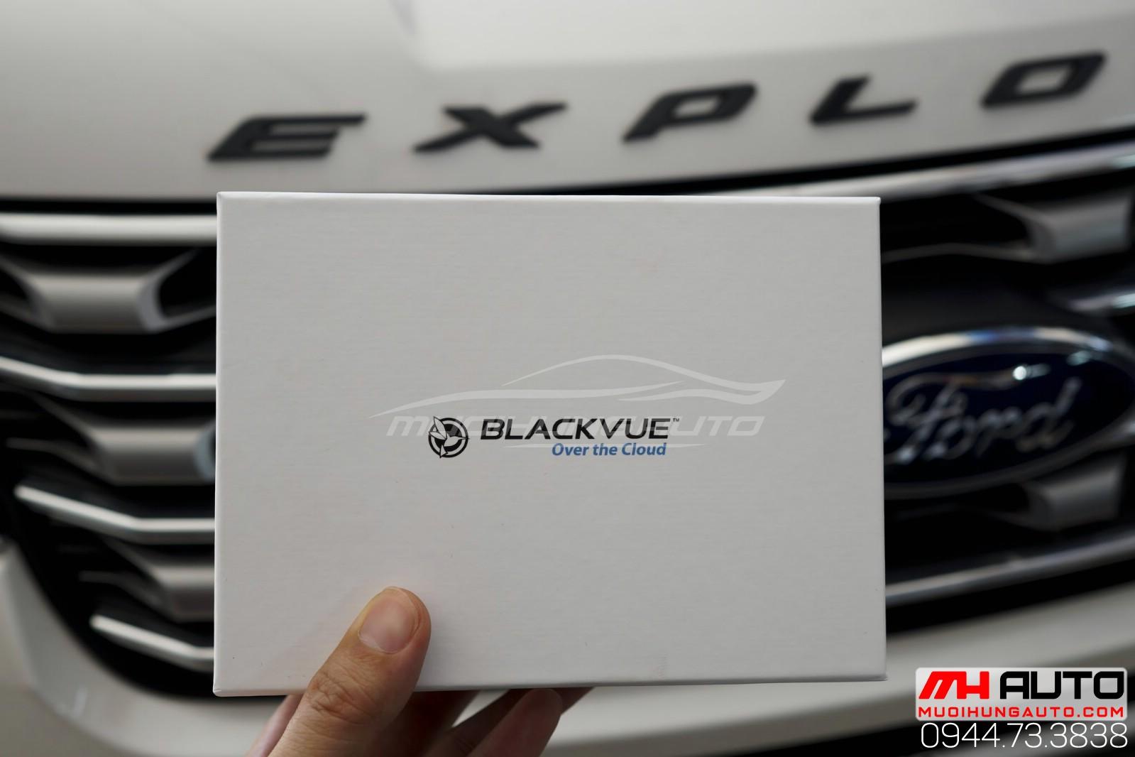 Lắp đặt camera hành trình BlackVue DR750S 2CH