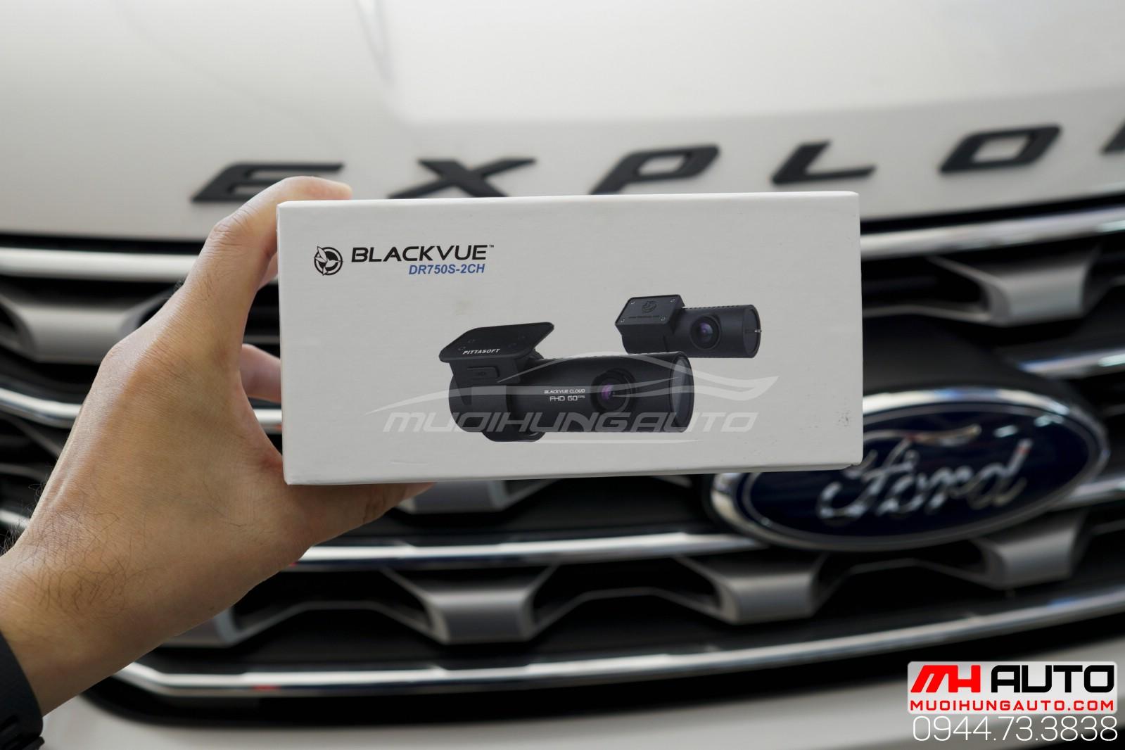Lắp camera cho ô tô BlackVue DR750S 2CH
