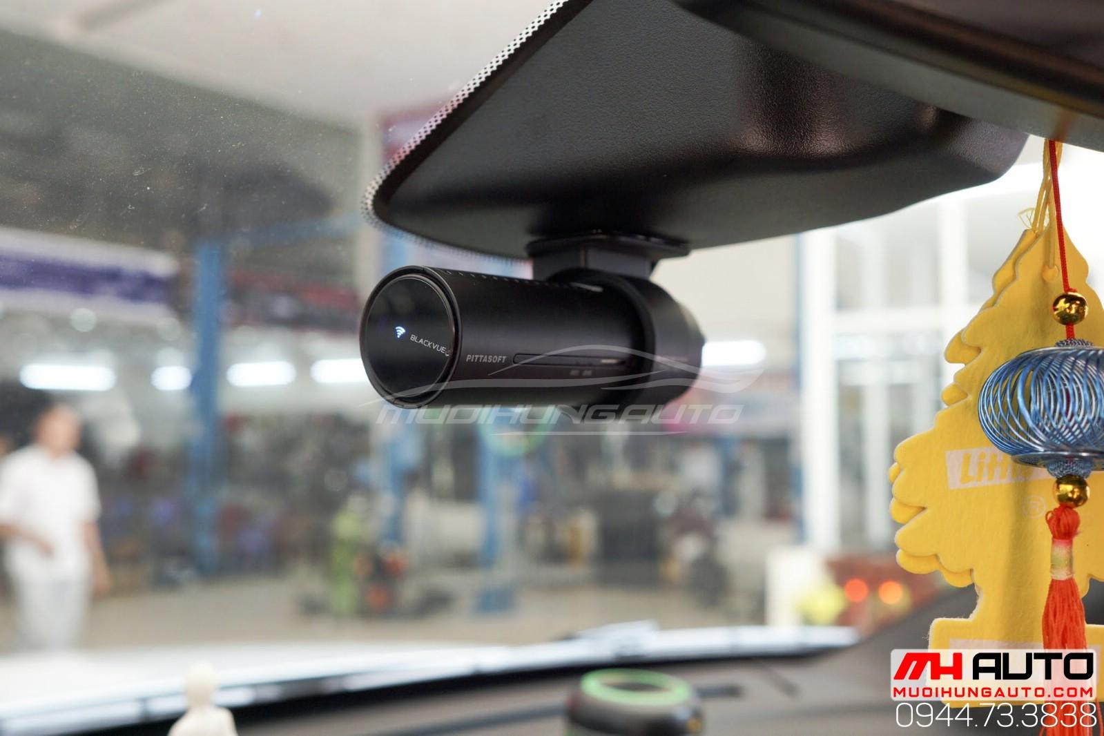 Lắp đặt camera hành trình BlackVue DR750S 2CH Hàn Quốc