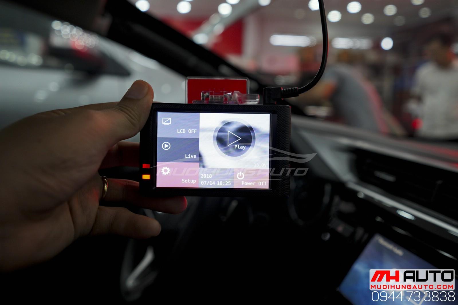 camera hành trình H2 Hàn Quốc cho ô tô