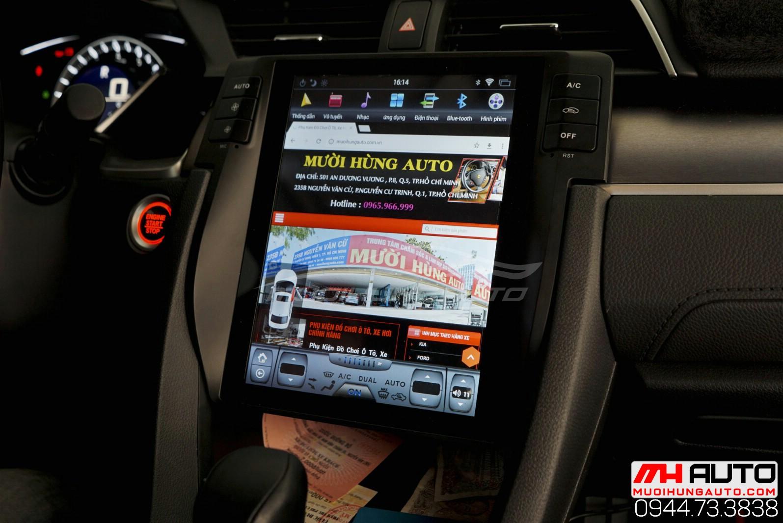 Màn hình Honda Civic tại HCM