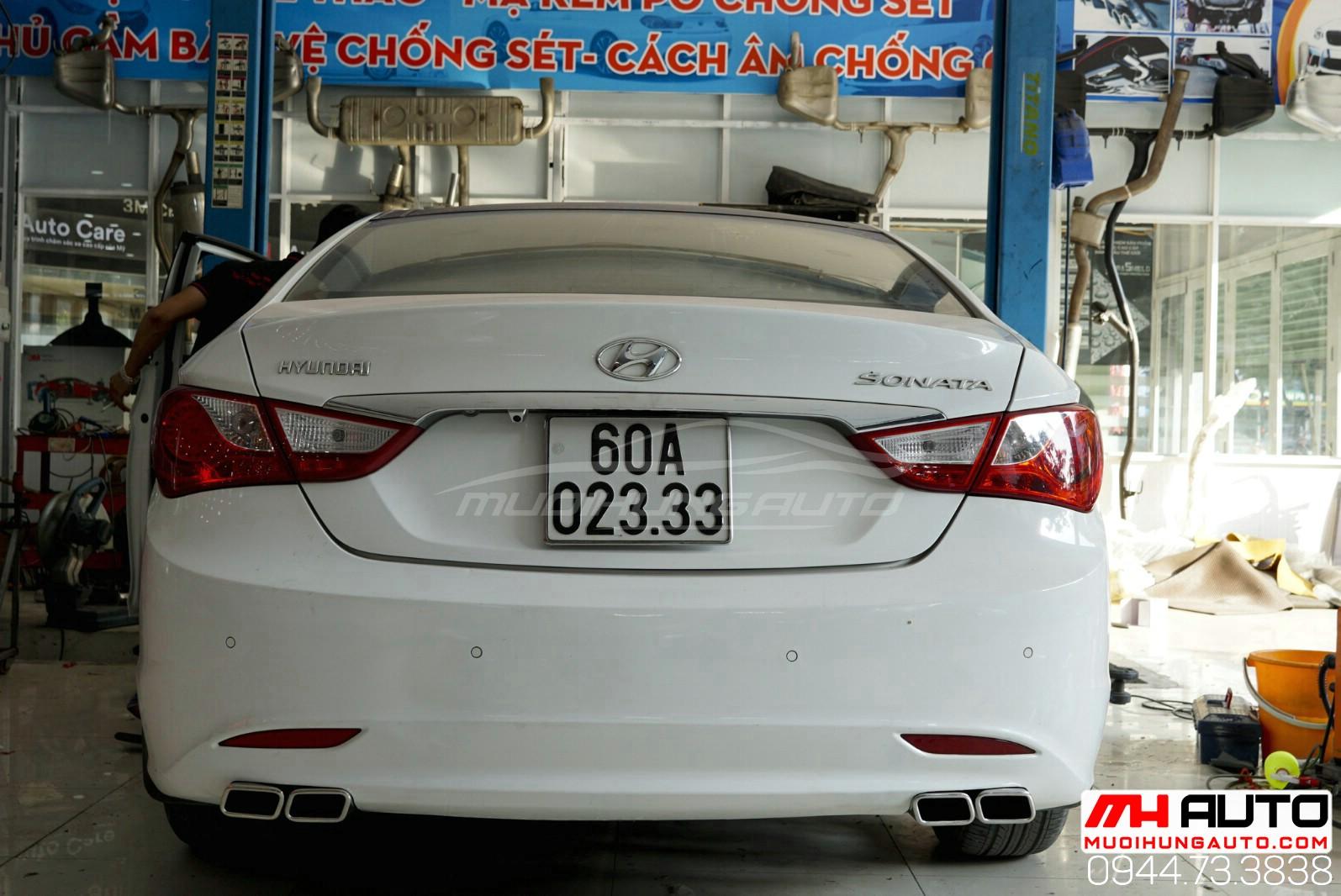 pô xéo xe Hyundai Sonata