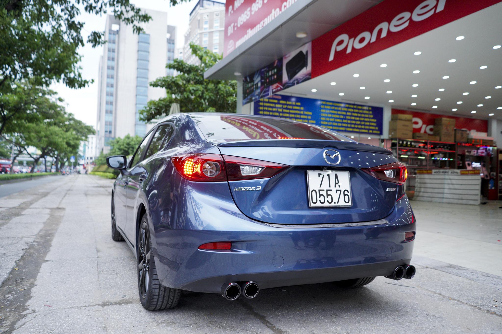 Mazda 3 pô đôi ak không lip chính hãng