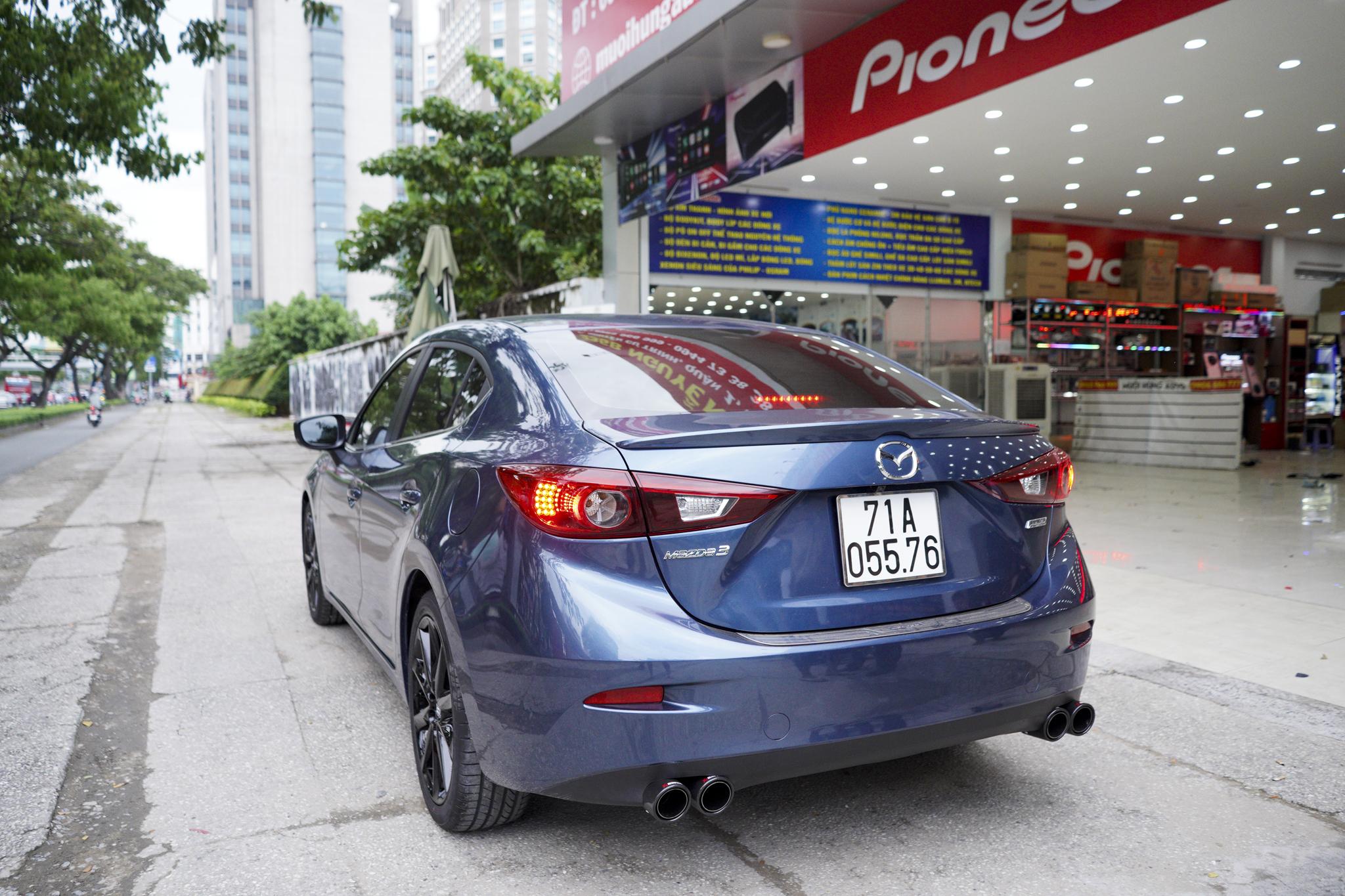 Mazda 3 pô đôi ak không lip hàng chính hãng