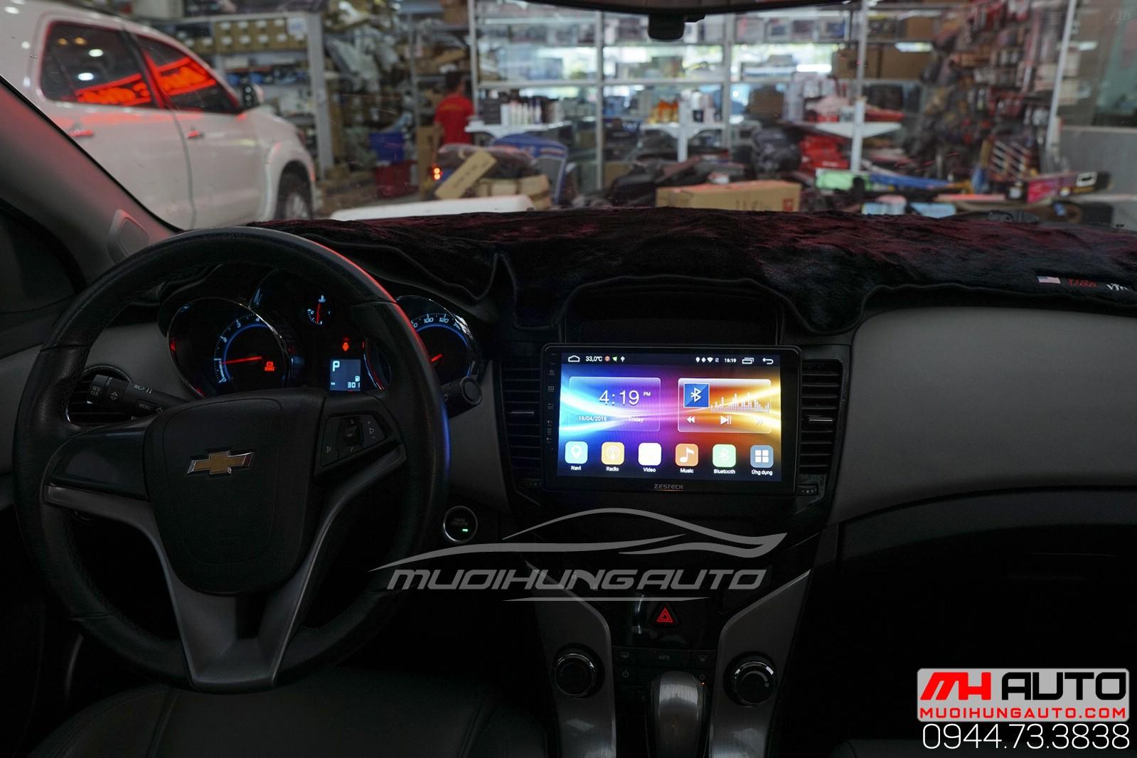 màn hình dvd Androi zin theo xe Chevrolet Cruze