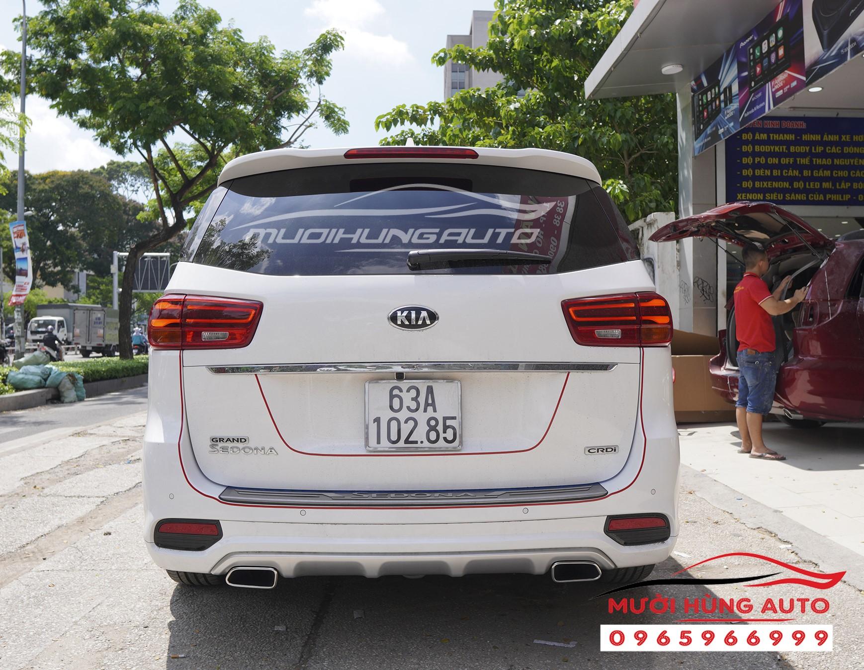 độ pô cho xe Kia Sedona 2019