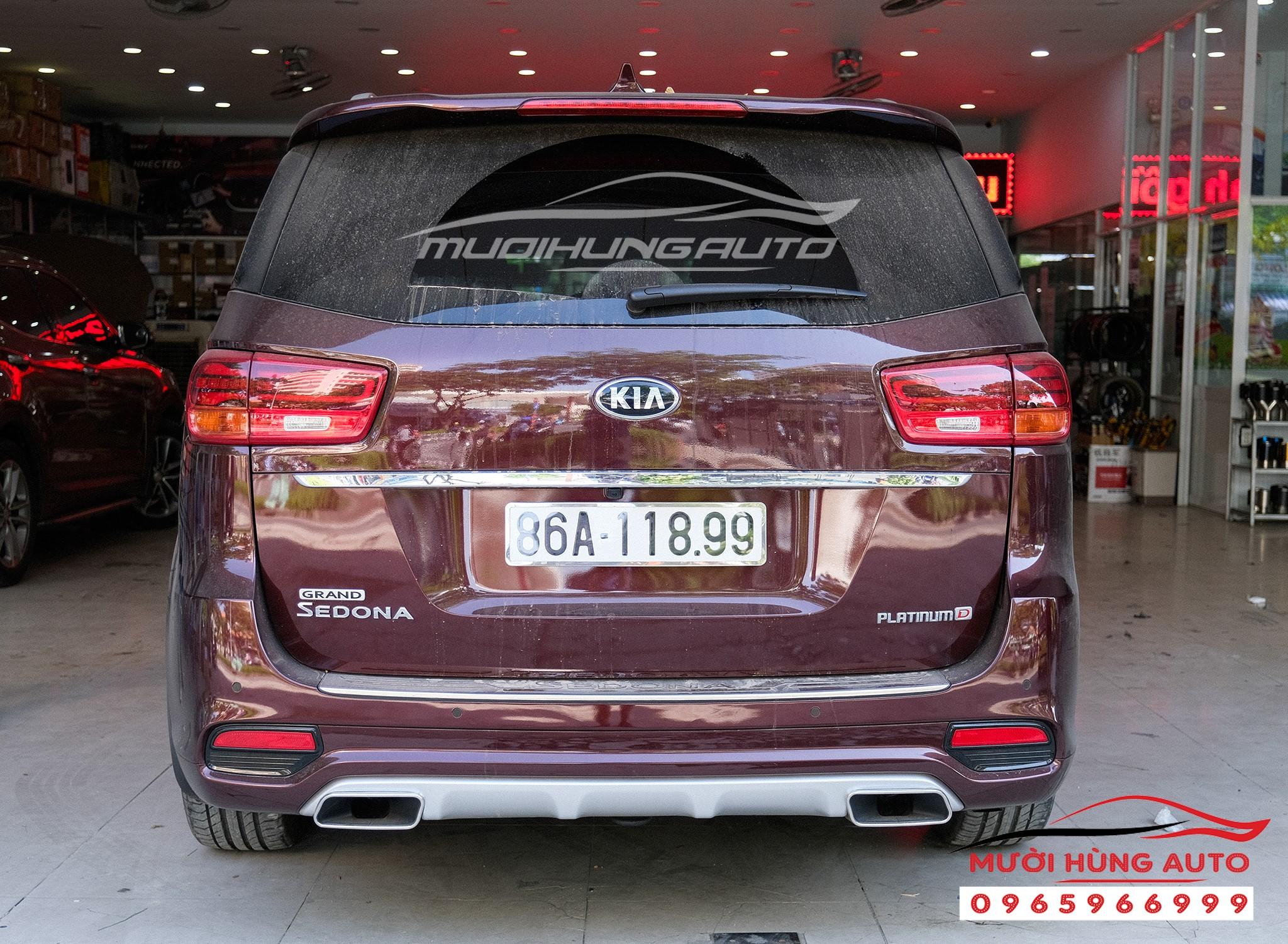 độ pô xe Kia Sedona 2019 chất lượng cao