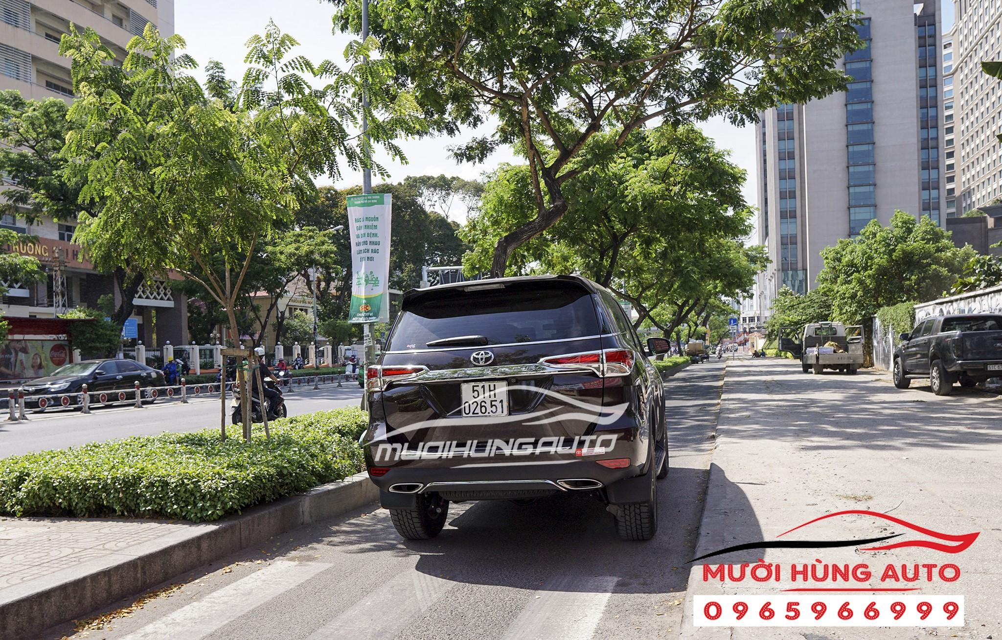 độ pô xe Toyota Fortuner 2019 mẫu Mer