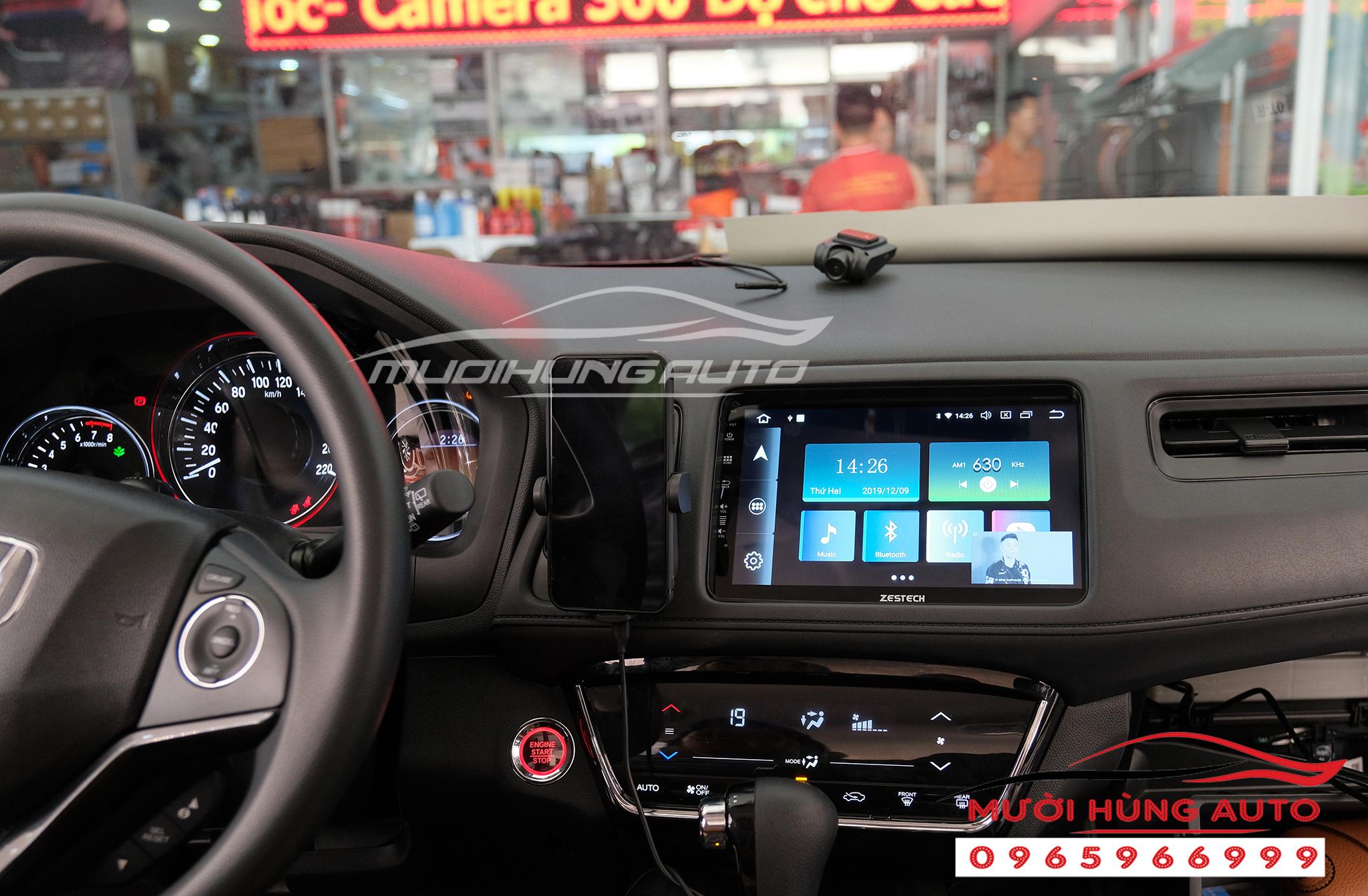 Gắn dvd cho xe Honda HRV Zestech Z800 Pro