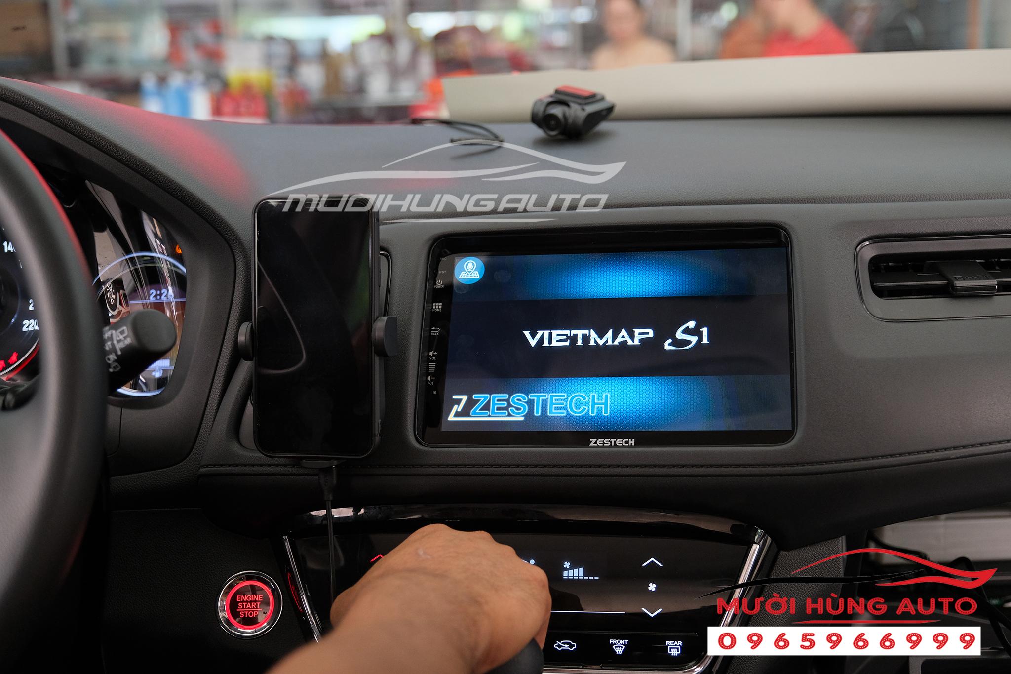 Gắn dvd xe Honda HRV Zestech Z800