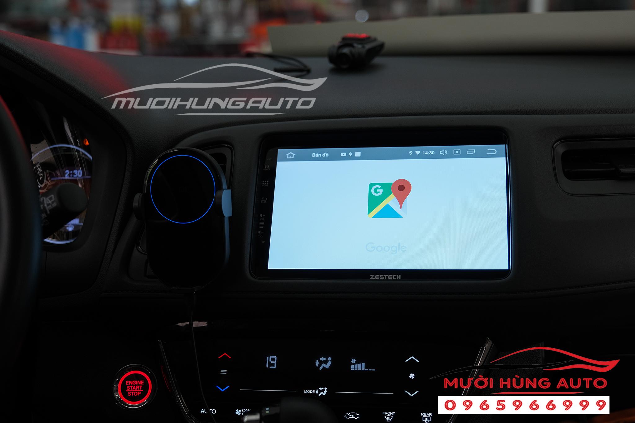 lắp dvd xe Honda HRV Zestech Z800 Pro
