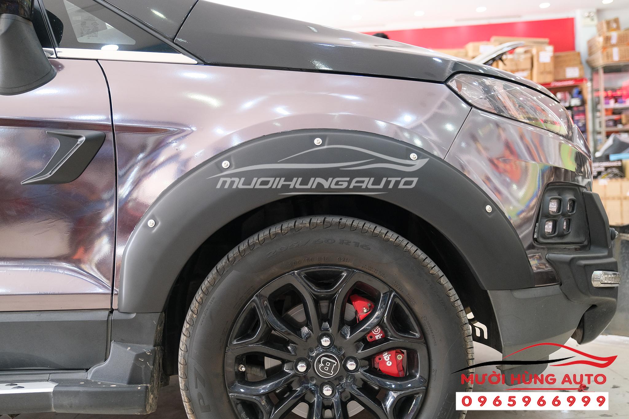 lắp Ốp cua bánh xe Ford Ecosport 2019-2020