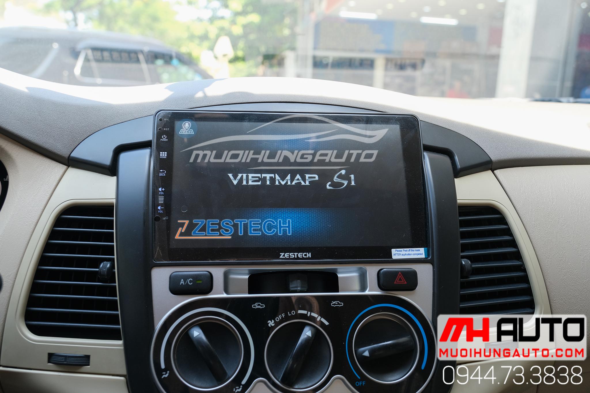 màn hình dvd android Zestech Z800 Pro xe Toyota Innova