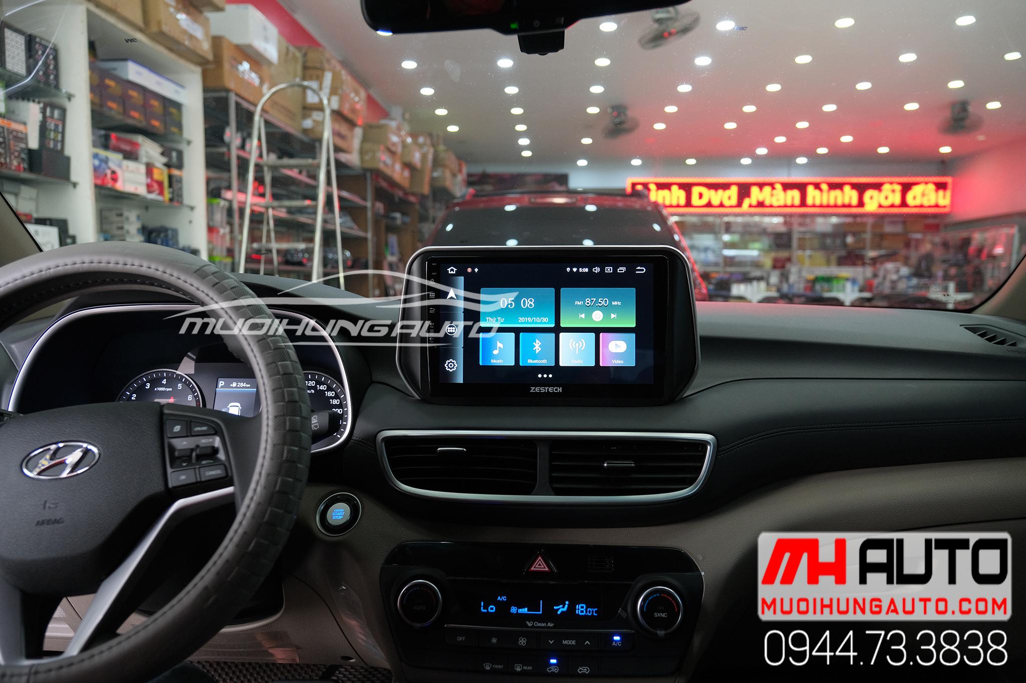 Màn hình DVD Zestech Z900 cho xe Hyundai-Tucson 2019