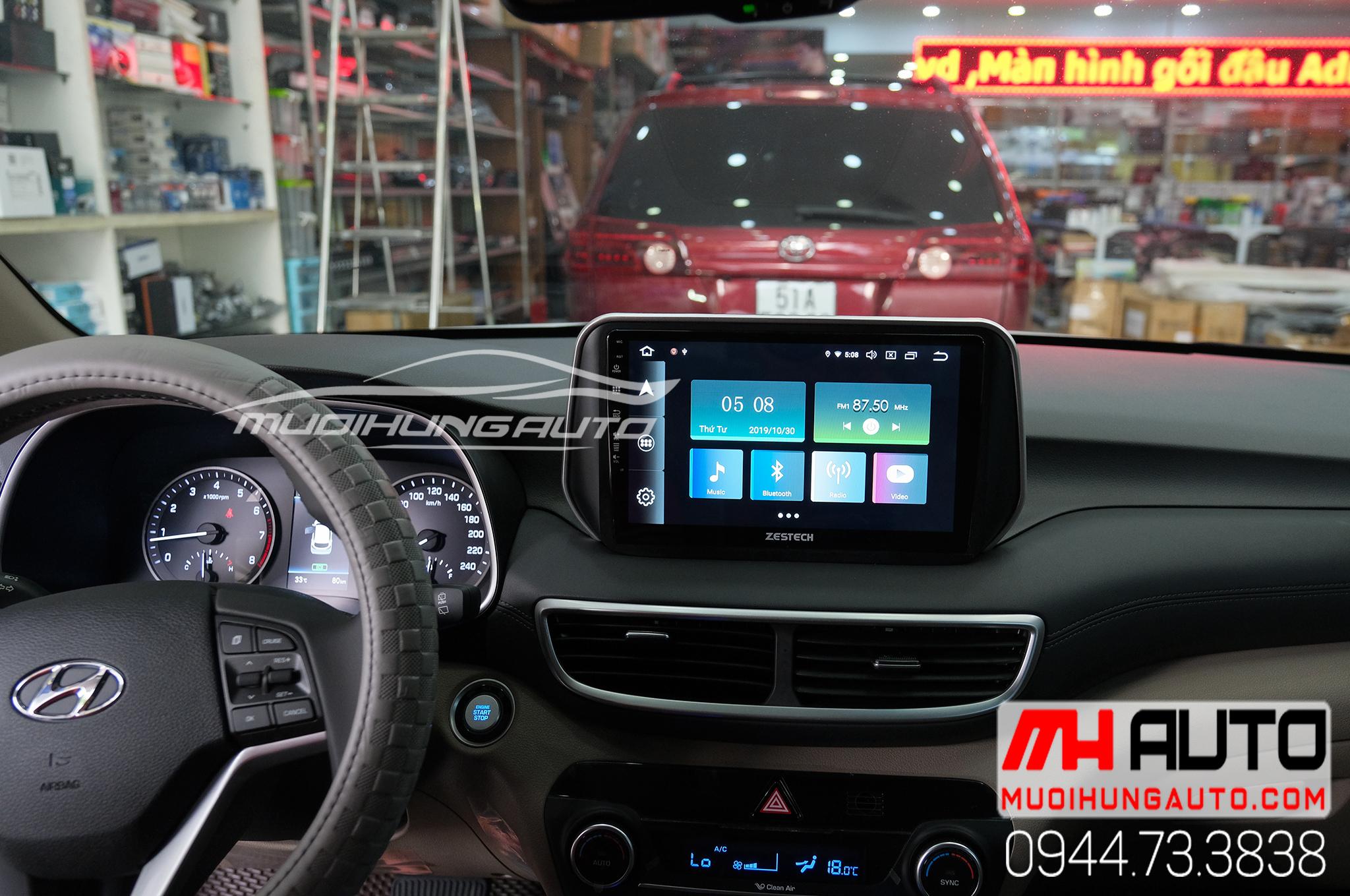 Màn hình DVD Zestech Z900 xe Hyundai Tucson 2019